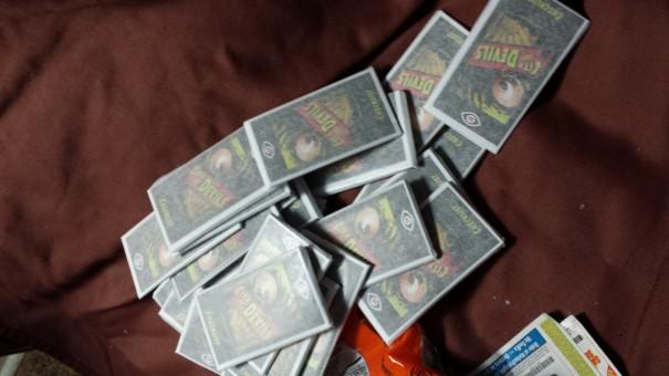 Trading card packs