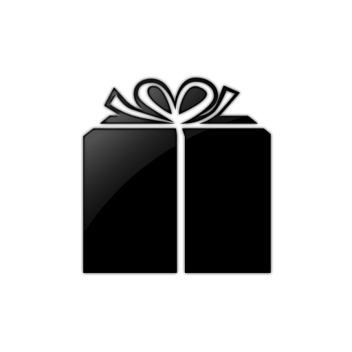 Pics Photos - Gift Box Clip Art Black And White